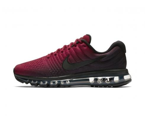 Nike Air Max 2017 Black Team Red Running Shoes AT0044-001