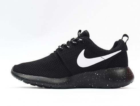 Nike Roshe Run Black White Speckled
