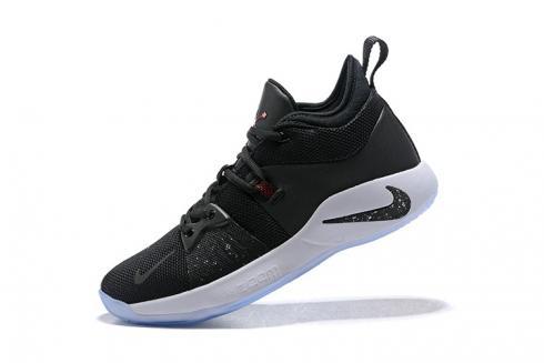 Mens Nike PG 2 Taurus Black White Solar
